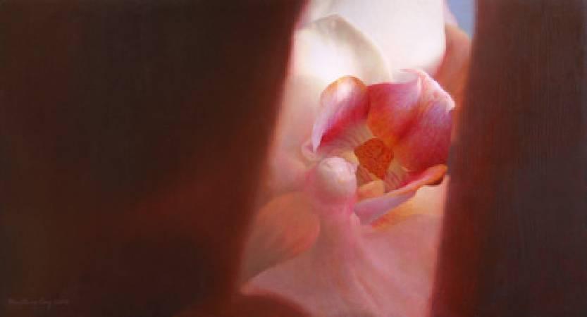 《探花》, 油彩、畫布 2010。
