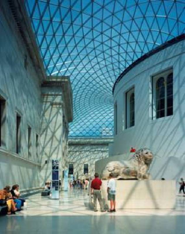 大英博物館中央大廳 英國倫敦,1994–2000