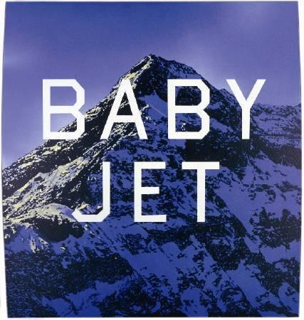 Edward Ruscha,《Baby jet》。 圖/擷取自espaces arts & objets。 攝影/ Paul Ruscha。