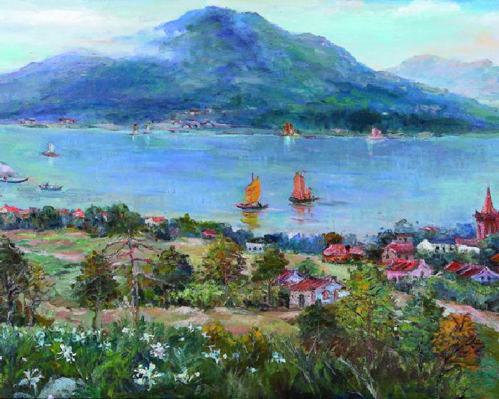 高雄市立美術館【芬芳寶島憶象1950年代的台灣】林智信彩繪展