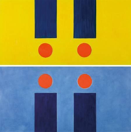 霍剛,《承合 3-1,3-2》。圖/尊彩藝術中心提供。