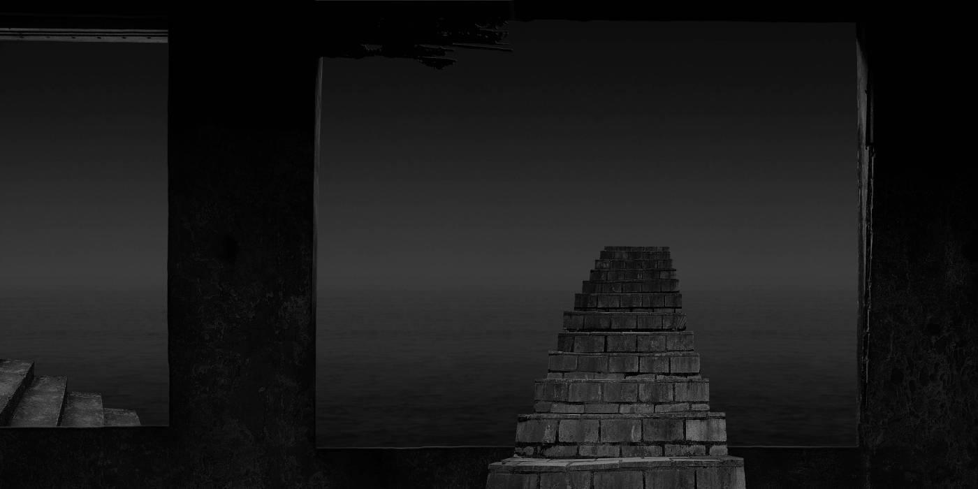 洪世聰-天梯(ascend in the mist 登高於薄霧之中)_2009