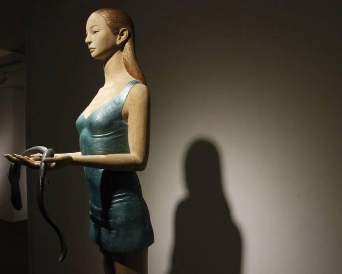 青雲畫廊:【人‧形‧雕】日本木雕藝術家聯展