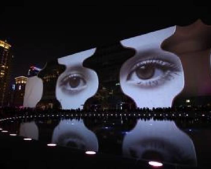 台中國家歌劇院開幕暖身秀【光舞紀3D光雕秀】