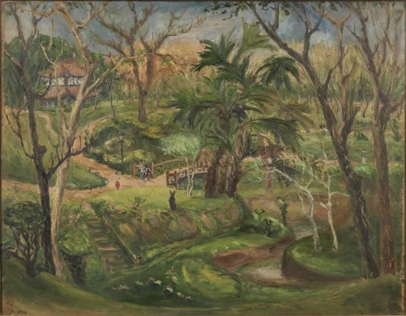 嘉義公園(三)。圖/國立故宮博物院提供。