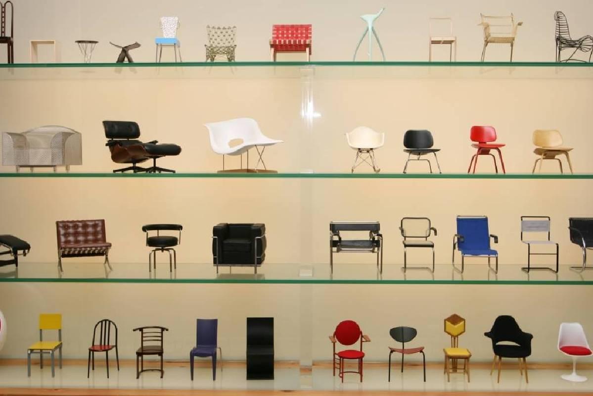 懷德居家具知識館 家具模型 (照片提供:懷德居文化基金會)