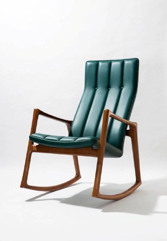 國外典藏作品 梯形扶框搖椅(照片提供:懷德居文化基金會)