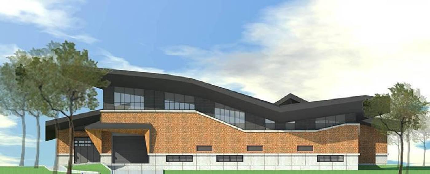 即將於三峽台北大學興辦的懷德居台北校區 建物模擬圖(照片提供:懷德居文化基金會)