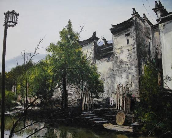 《婺源曉起印象之一》,2013。