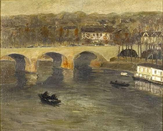 《夏朗頓橋》( Bridge At Charenton)