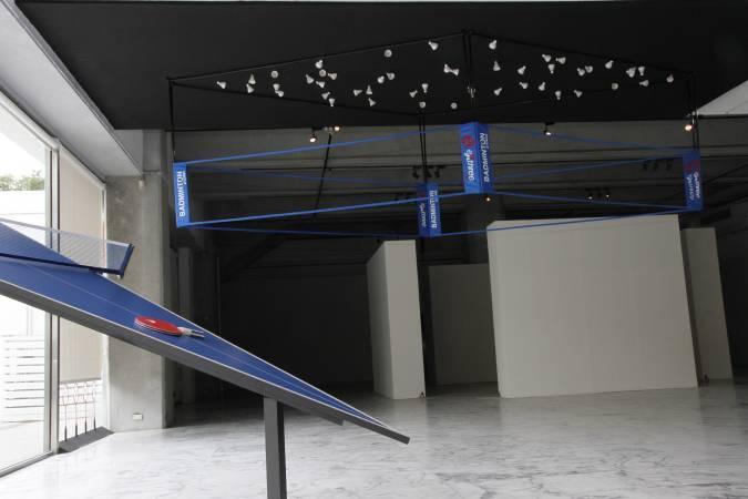 紀紐約,《運動三部曲》。圖/非池中藝術網攝。