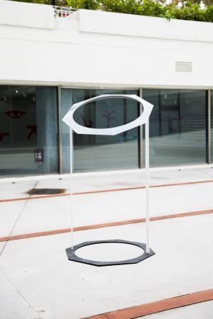 紀紐約,《八角圓》。圖/臺北市立美術館提供。