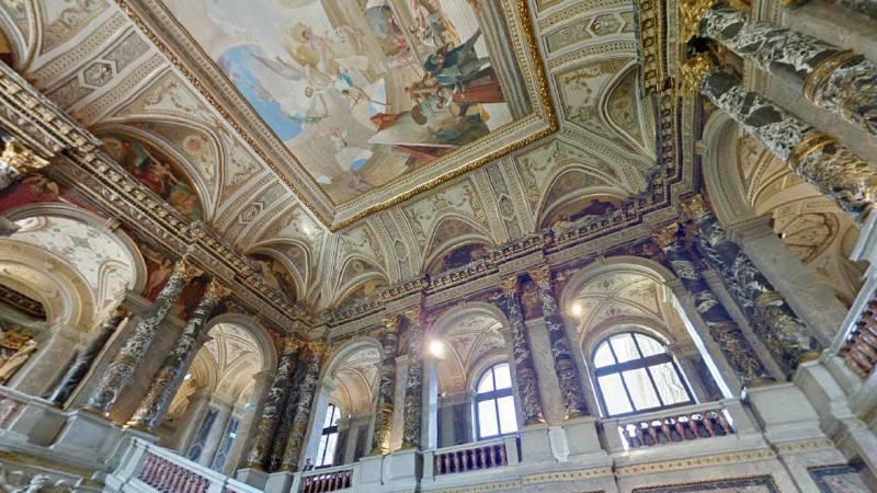 藝術史博物館內部。圖/取自Google Map。