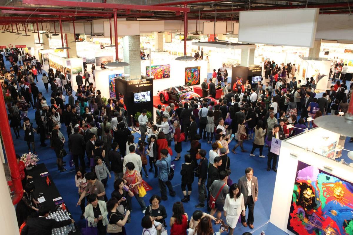 台北新藝術博覽會成績傲人,2014年藝術家成交率93.21% ,打破全球藝博會紀錄