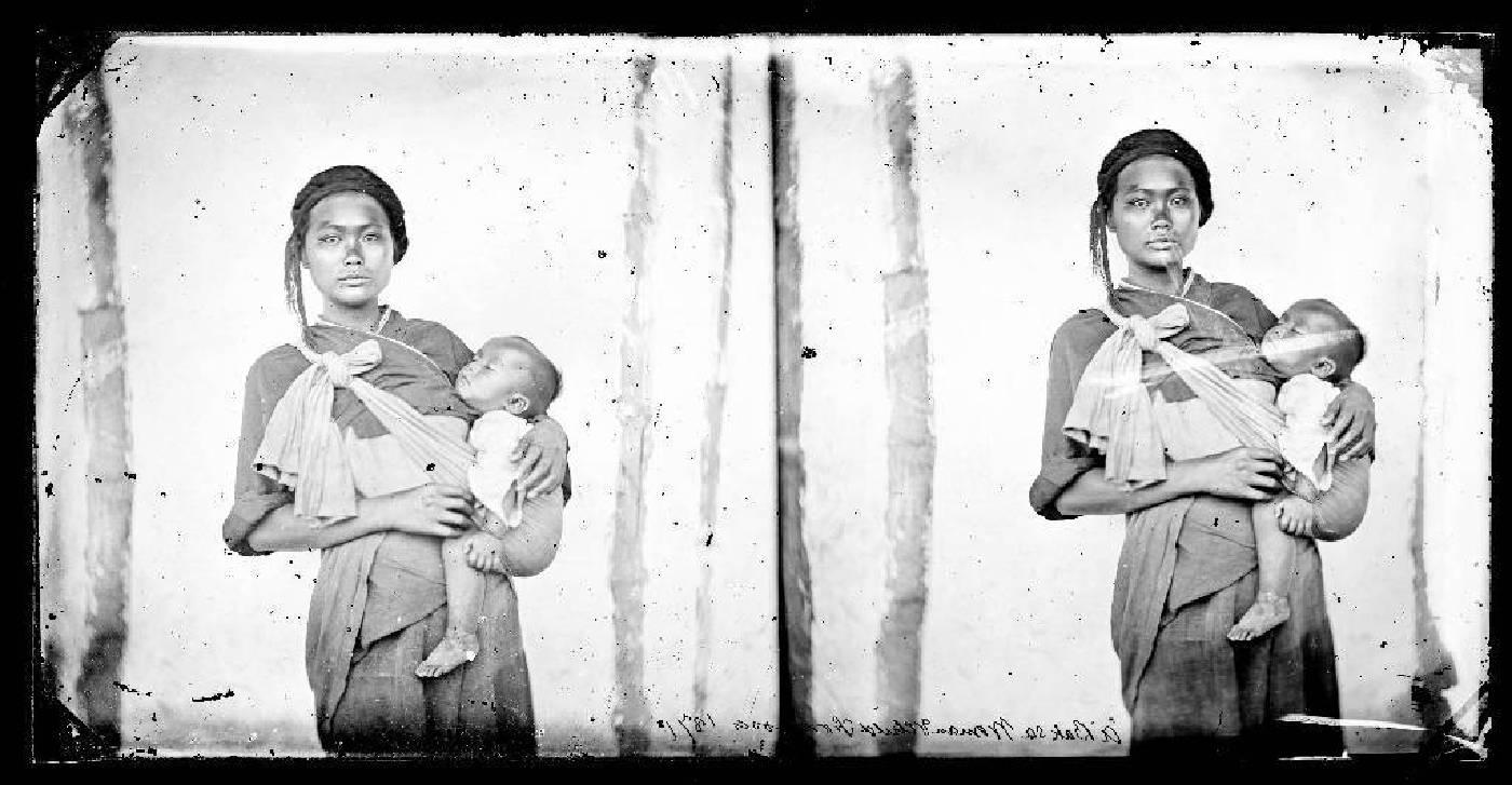 木柵女人與嬰孩