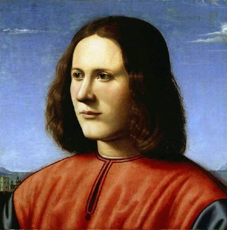 《青年肖像》。圖/取自Wiki Art。