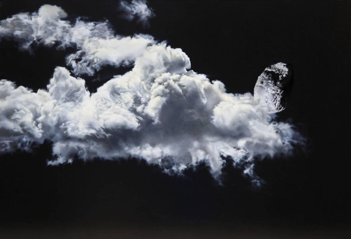 郝祥《2012淀-4》 80×116cm  布面油画  2012年