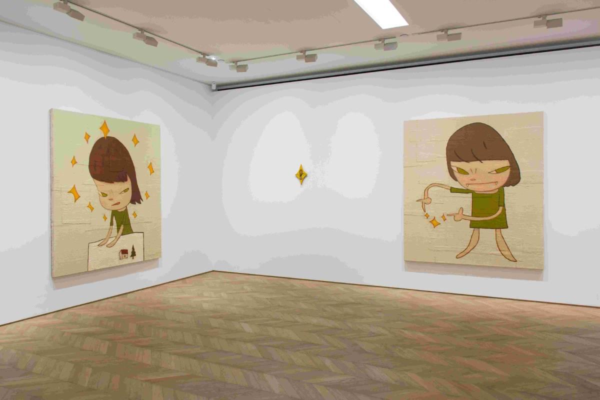 奈良美智:「星星」於佩斯香港展覽現場圖片