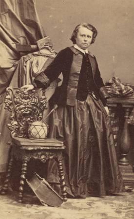 Rosa Bonheur,肖像。圖/取自維基百科。