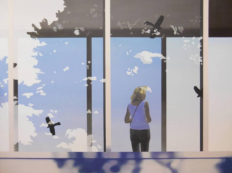 Eunji SEO_Untitled 2_Acrylic on Canvas_120 x 160 cm_2014