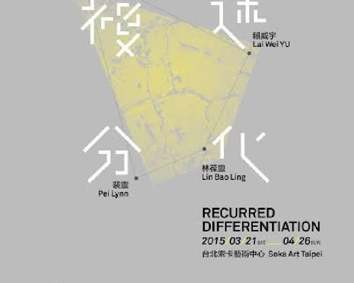 索卡藝術【複述分化】  曾雍甯、林葆靈、裴靈、賴威宇聯展