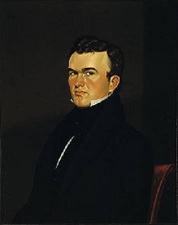 George Caleb Bingham,Self Portrait of the Artist,1834。圖/取自維基百科。