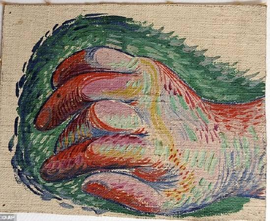 畢卡索271幅作品中,未曾發表手稿。