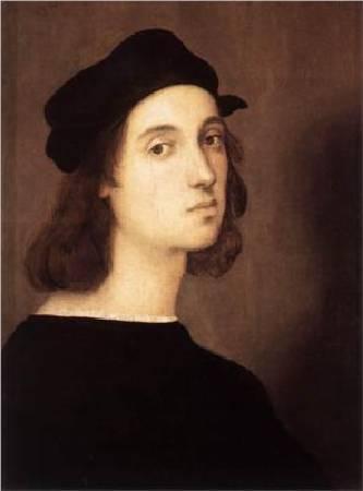 拉斐爾肖像,圖/取自wikiart。