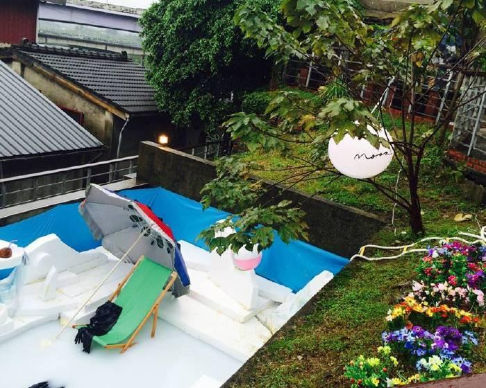 2015寶藏巖藝術燈節:羅智信《夏日之戀》x 鄭宜蘋《海灘上種花月良宵》