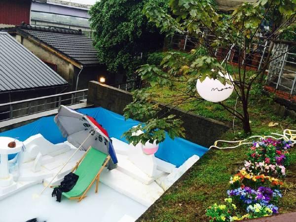 羅智信,《夏日之戀》。圖/寶藏巖國際藝術村提供。