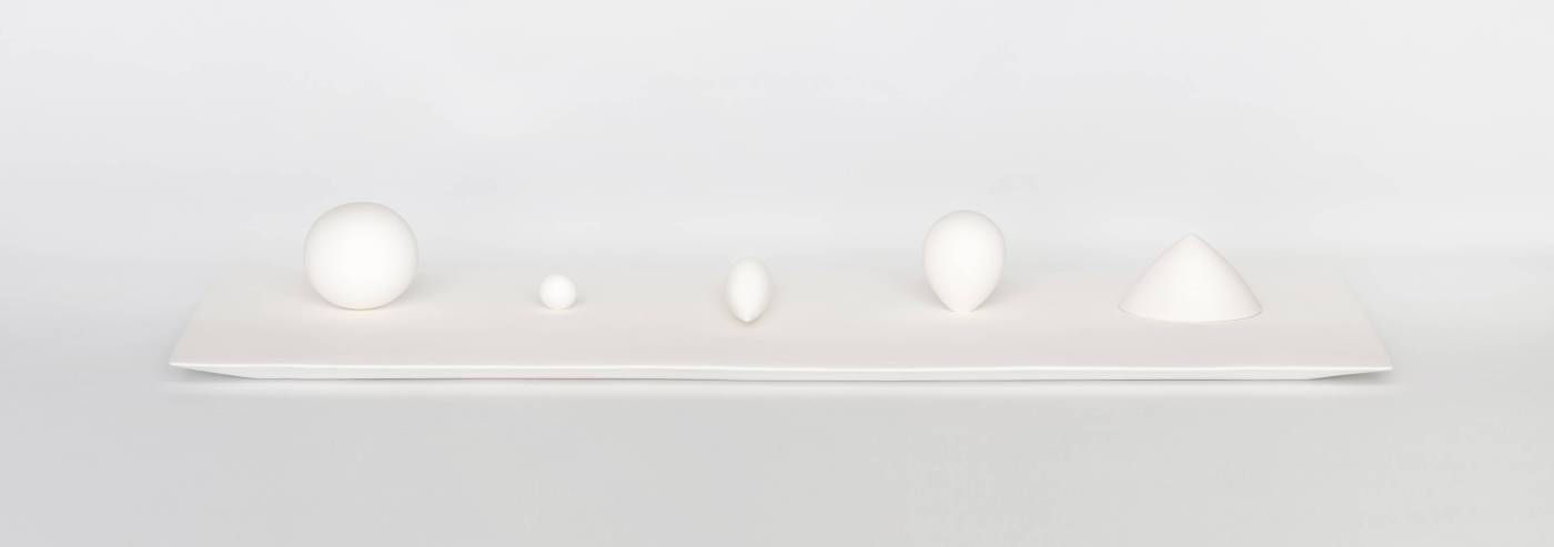 黃莛㭹,靜Tranquil,約84.5 x 36 x 8cm,陶瓷ceramics,2014