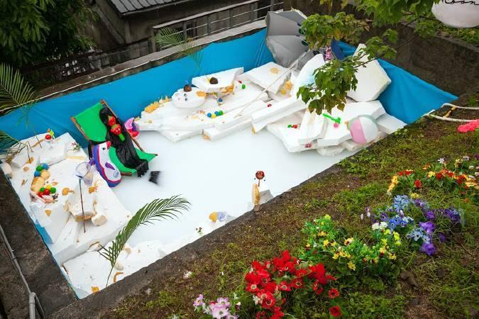 羅智信,《夏日之戀》第二階段 after 0406演出 。圖/寶藏巖國際藝術村提供。