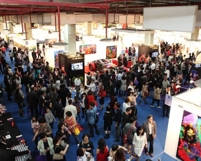 台北世貿三館:【2015台北新藝術博覽會】