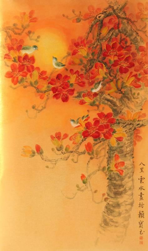 木棉組曲左3(畫60X120)