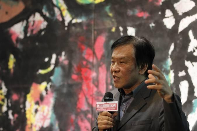 台北當代藝術館館長石瑞仁。圖/非池中藝術網攝。