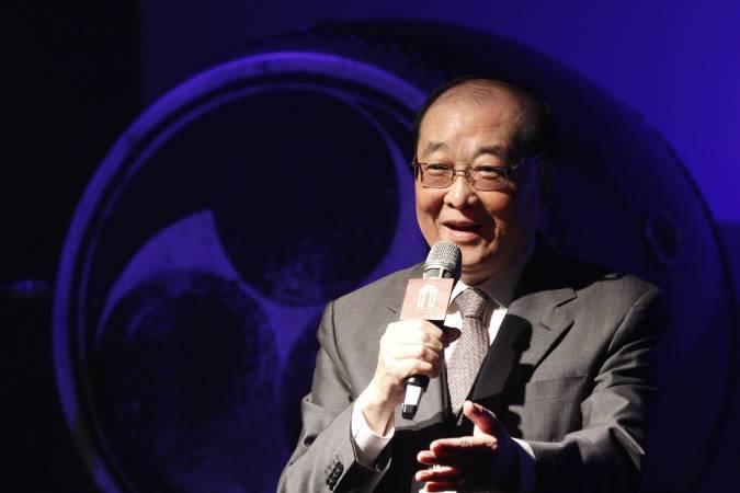 文化部部長洪孟啟。圖/非池中藝術網攝。