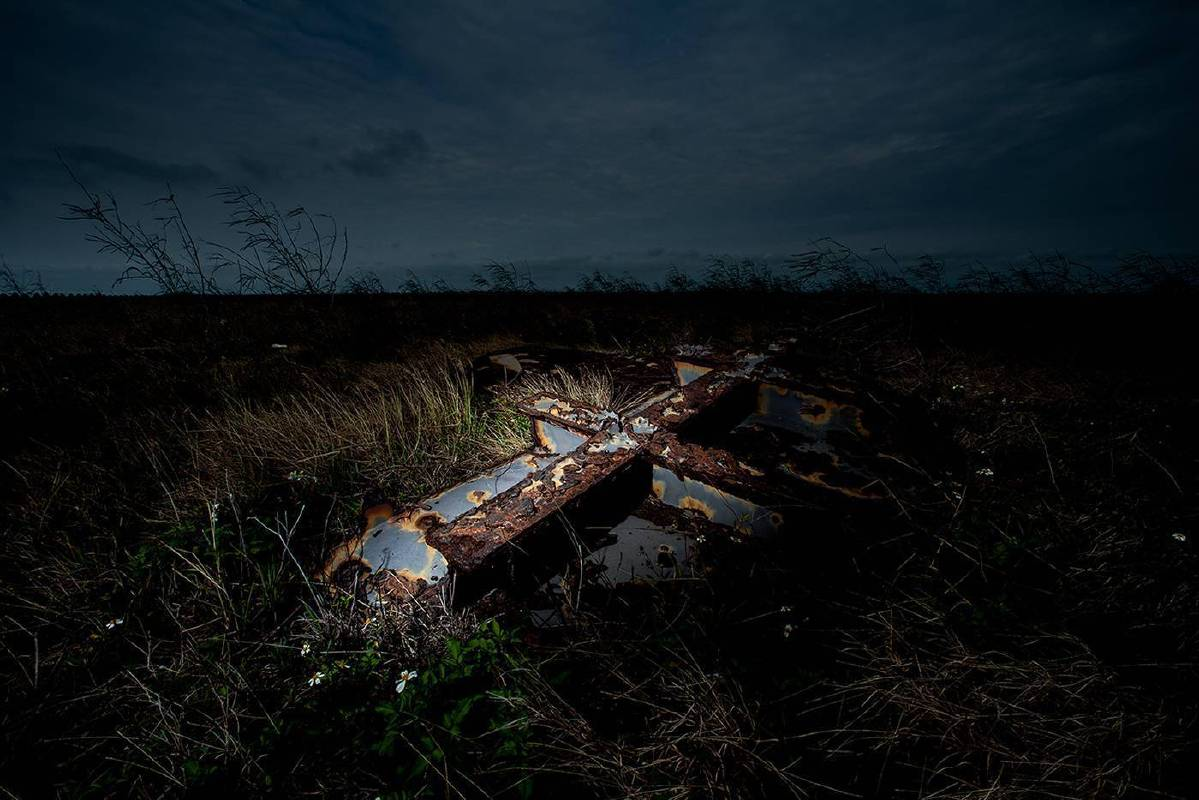 林厚成,既存於遠方的記憶 - 台西,攝影輸出,2013,藝術家自藏