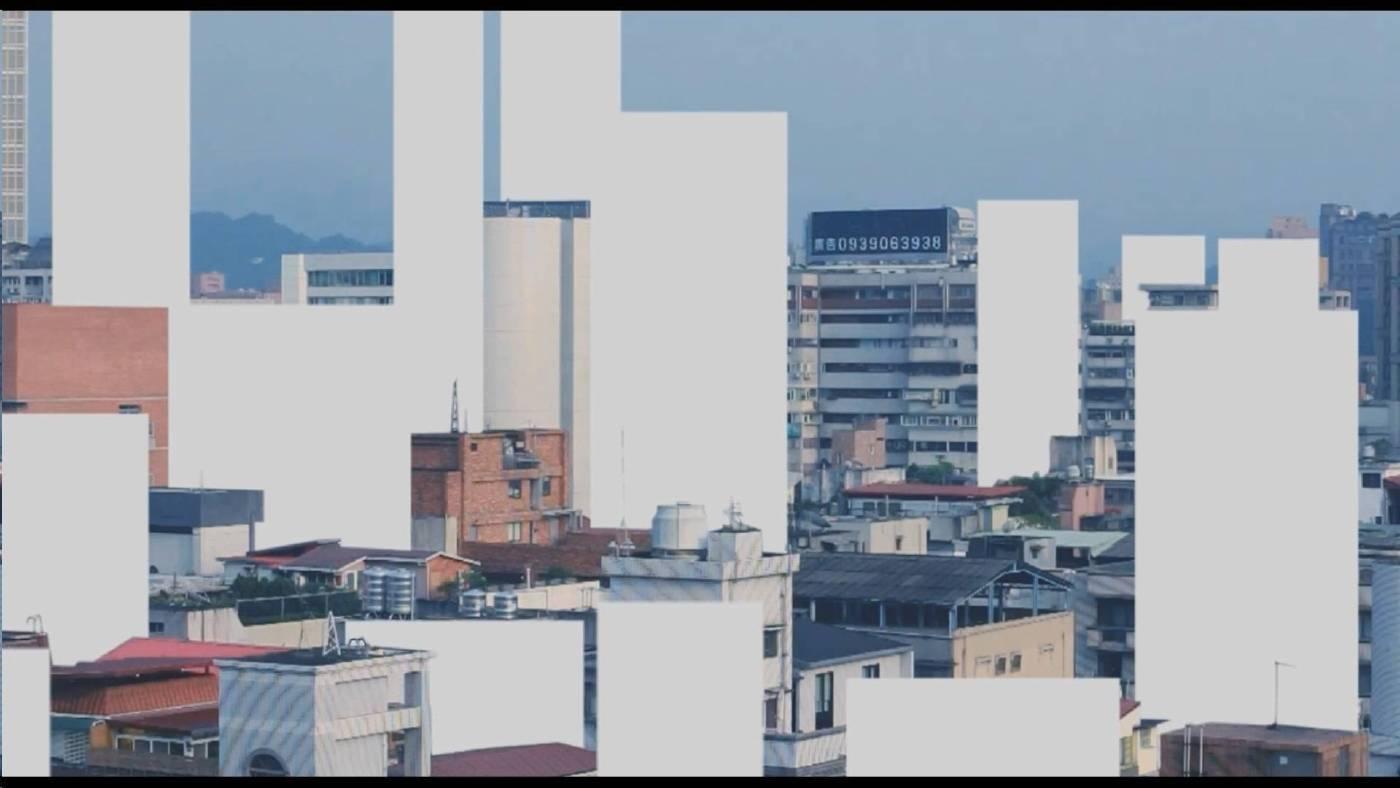李旻軍∣鄭安齊,城市風景,攝影機、即時影像裝置,2015,藝術家自藏
