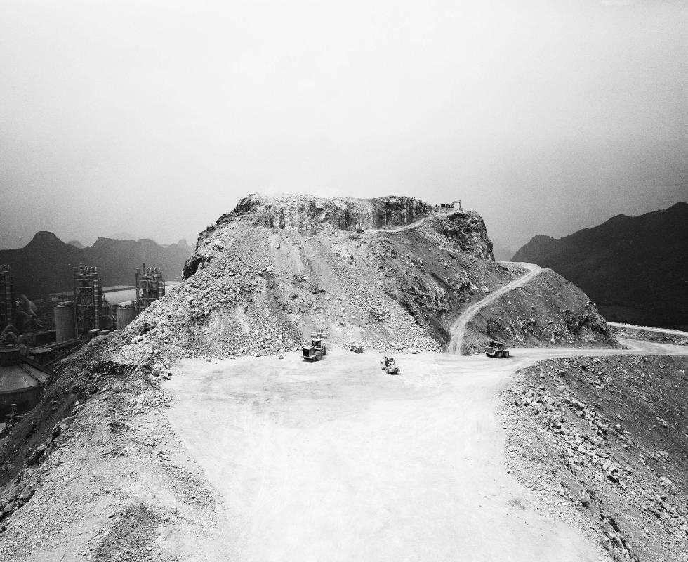 楊哲一,山水,攝影輸出,2012,藝術家自藏