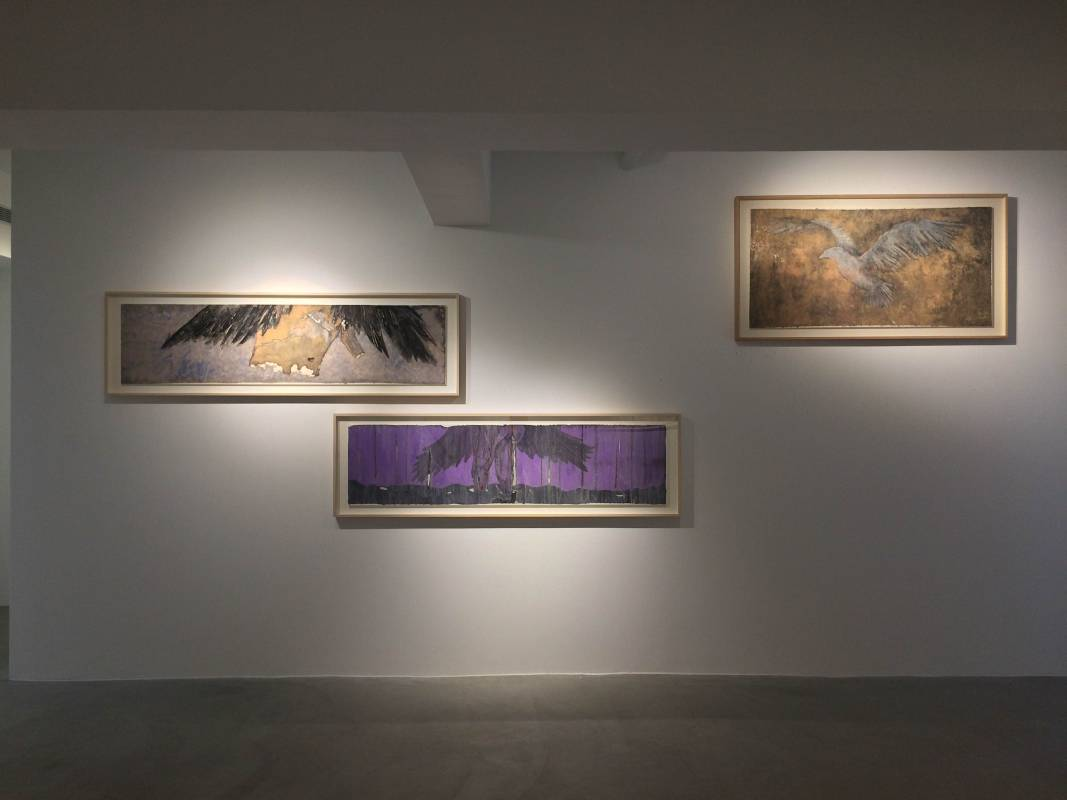 「李濤 Li Tao-我們 Sapiens」亦安畫廊台北展出風景