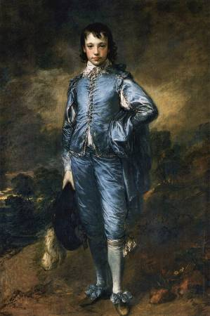 Thomas Gainsborough,《The Blue Boy》,1770。圖/取自Wikipedia。