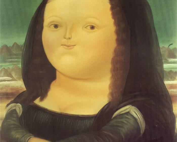 波特羅筆下的蒙娜麗莎 胖也很性感