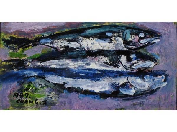 張萬傳,《四破魚》,1987。