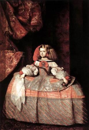 Diego Velázquez,《The Infanta Doña Margarita de Austria》,1659。圖/取自Wikipedia