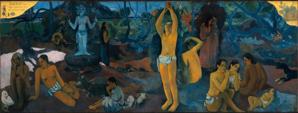 Paul Gauguin,《Where Do We Come From? What Are We? Where Are We Going?》,1897。圖/取自wikiart