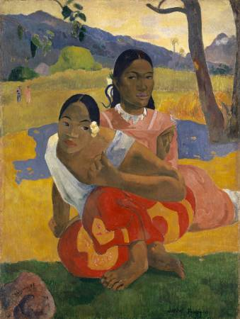 Paul Gauguin,《When Will You Marry》,1892。圖/取自wikiart