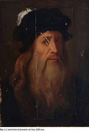 《盧卡尼亞的達文西畫像》。圖取自Wikipedia。
