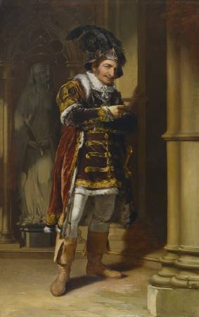 Thomas Sully,《George Frederick Cooke in the Role of Richard III》,1812。圖/取自wikiart