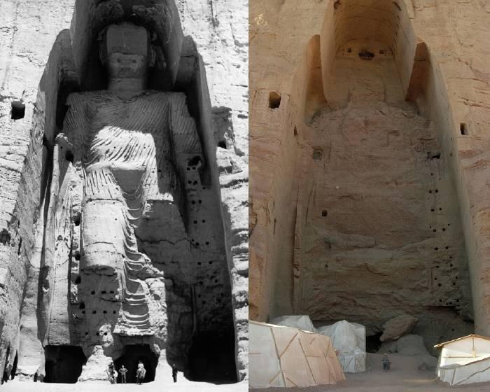 世界遺產被毀14年......巴米揚大佛3D光影重現