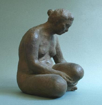 陳夏雨,《坐婦》,1980。